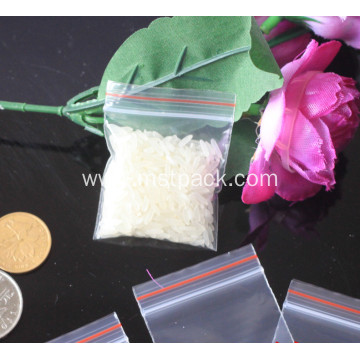 Screw Packaging Flat Zipper Bag