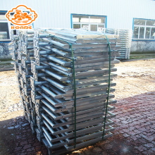 High quality galvanized pig gestation crates birthing crates