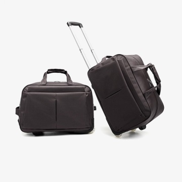 New Design Duffle Foldable Trolley Travel Bag