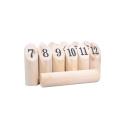 Classic Game Kubb Outdoor Games Wooden Kubb