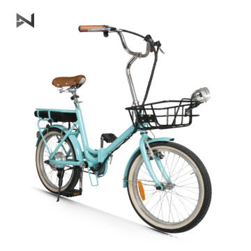 e-bike lightweight fodble electrical bicycle