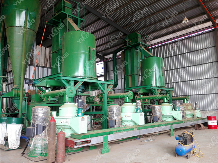 ring die sawdust pellet machine