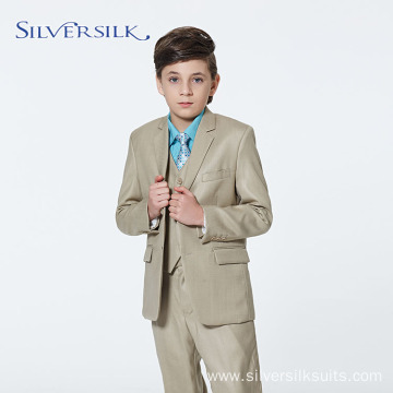 High End Polyester Rayon 3pcs Suit Set Boy