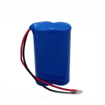 18650 1S2P 3.7V 6800mAh Li-Ion Battery Pack