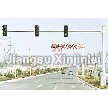 Traffic Signal Light Pole
