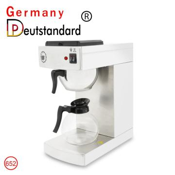 Commercial drip coffee maker warmer machine with stainless steel for hot sale