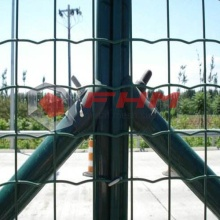 Green PVC Euro Fence of Welded Wire