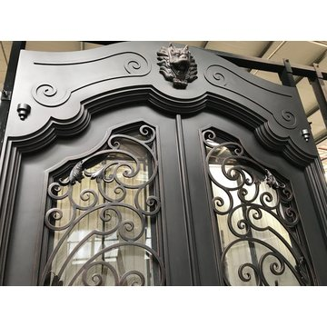 2019 Hot Sale Exterior Security Iron Door