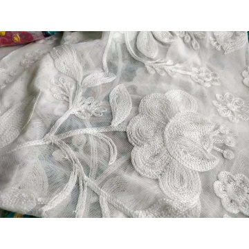 Fancy Polyester Towel Embroidery for Woman Dress
