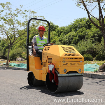 800kg Seat style Road compactor machine road High Quality roller compactor FYL-860