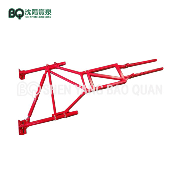 Wall Tie Anchorage Frame for Construction Hoist