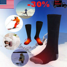 Brand New Style Electric Battery Heated Socks Feet Warmer Heater Ice Fishing Foot Shoe Boot Warm