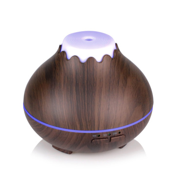 Wood Grain Essential Oil Mini Usb Mist Diffuser