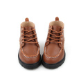 Newfangled Organic Material Leather Baby Shoes Safety Boot