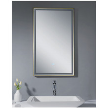 Rectangular LED bathroom mirror MH13