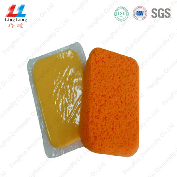 Cuboid swanky car cleaning sponge item