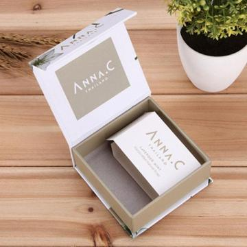 New Design Luxury Book Shape Soap Paper Box