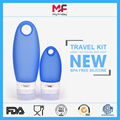 TSA Approved Squeezable Silicone Bottle Travel Set