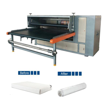 Mattress packaging machine high efficiency
