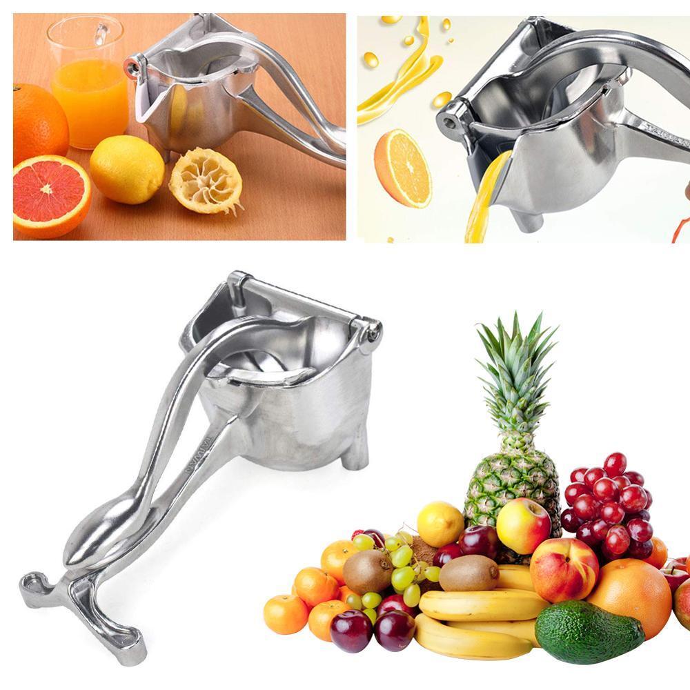 Fruit Juicer Manual Aluminium alloy Mini Citrus Juicer Orange Lemon Fruit Squeezer Grinder fresh juice tool Kitchen Gadget