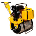 Used Mini Walk Behind Double Wheel Road Roller