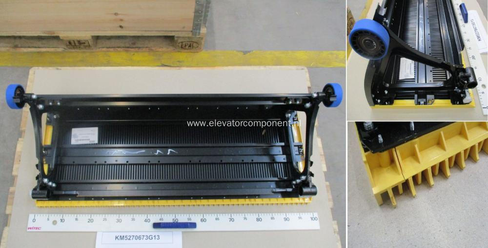 Stainless Steel Step 1000mm for KONE Escalators KM5270673G13
