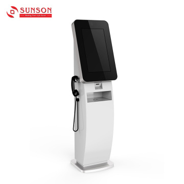 Self-service A4 Document Scanner Kiosk With Barcode Scanner
