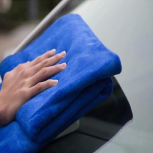 thicken microfiber towel for clean car towel