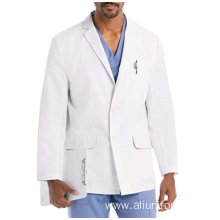 Hospital Uniforms White Lab Coat Medical Doctor Nurse Scrub Suits