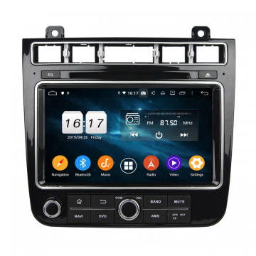 TOUAREG 2015 2016 සඳහා Android 9.0 In-dash dvd