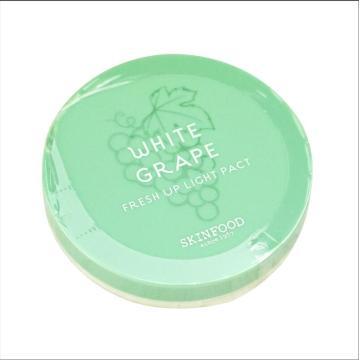 Original SKINFOOD Skin food White Grape Fresh Up Light Pact face powder pressed powder