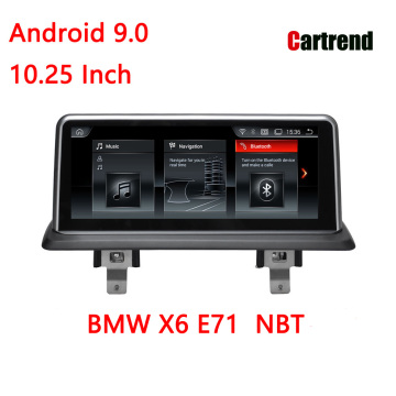 Магнитола для BMW X6 E71 Android