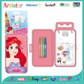 DISNEY PRINCESS carry art set