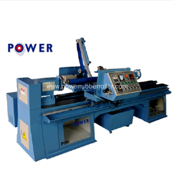 Rubber Roller Polishing Machine with Duct Collector