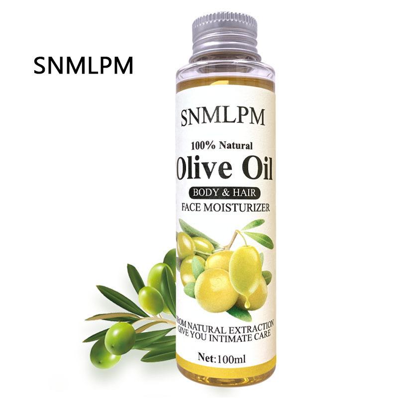 MOPOYAT 100%Natural Olive Oil Essence for DIY Lip Gloss Oil Lip Care Lip Glaze Makeup Base Oil Care Hair Skin Essential oil 100g