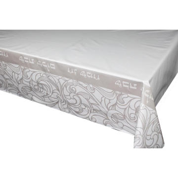 Elegant Tablecloth with Non woven Below backing