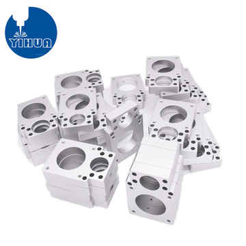 CNC Machined Aluminum Block Part