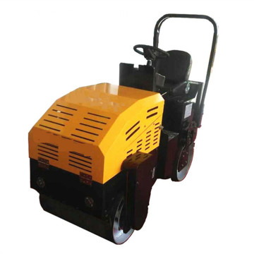 Small Ride-on road roller