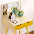 white yellow makeup dresser wardrobe dressing table designs