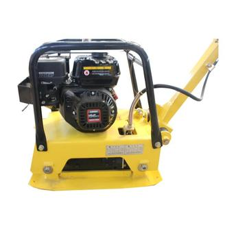 Honda engine vibrating reversible plate compactor