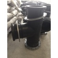 HDPE Equal Tee with flange