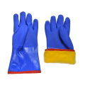Winter Liner Heavy Duty PVC Coated Chemical Gloves