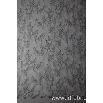 High Quanlity Nylon Polyester Panel Lace Fabric