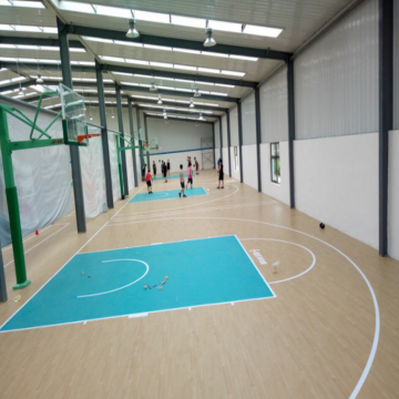 Populared Basketball Sports Flooring PVC flooring