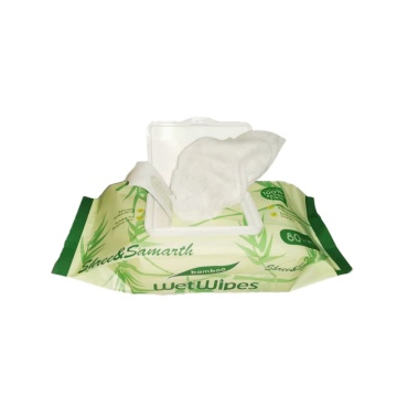 Private Label Organic Bamboo Biodegradable Baby Wet Wipes