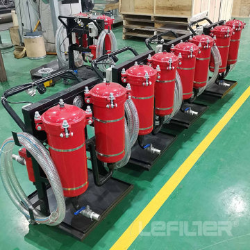 LYC-40B Hydraulic Oil Filtration Process Filter Housing