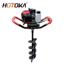 gasoline earth auger ground drill machine