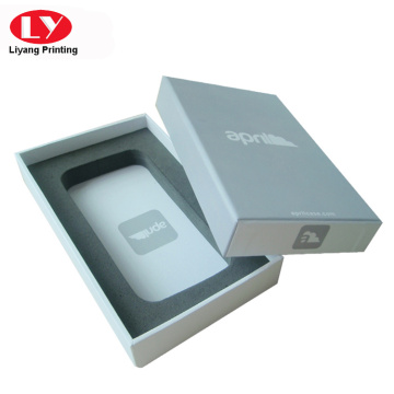 Printed Cellphone Case Box with foam