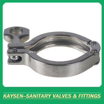 Sanitary pressing clamp stainless steel