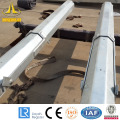 Hot dipped galvanized topple over lighting pole